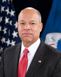 Jeh Johnson, United States Secretary of Homeland Security